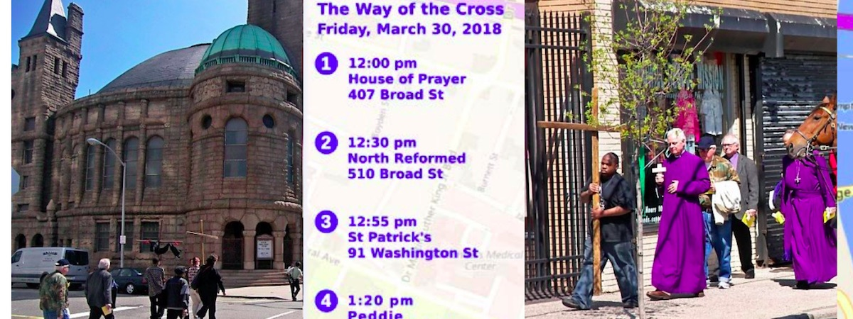 The Way of the Cross - Friday March 30, 2018 - 12pm to 3pm