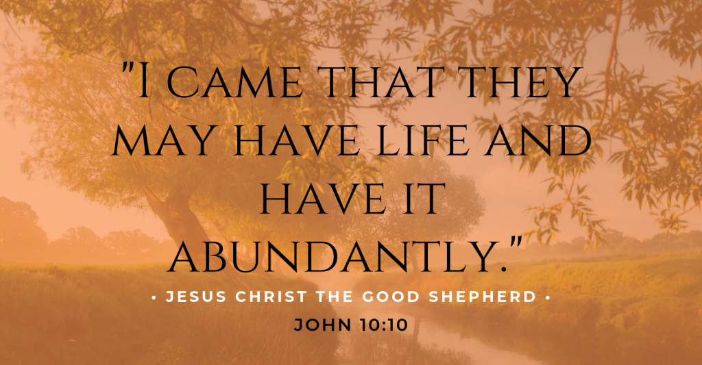 Jesus Christ the Good Shepherd (1)