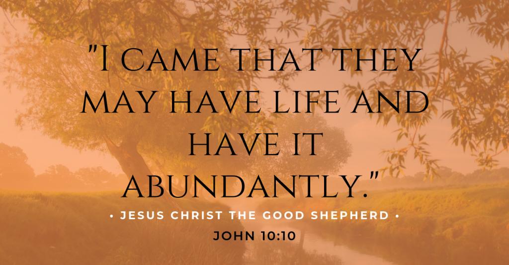 Jesus Christ the Good Shepherd (1)