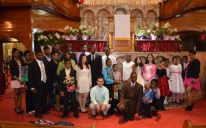 Easter 2015, Youth after worship